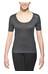 Odlo Cubic Shirt S/S Crew Neck Women ebony grey/black